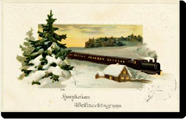 Familiäre Weihnachtsgrüße.Weihnachtsgruesse
